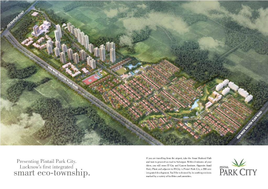 Pintail Park City Lda Approved Plots in Sultanpur Road, Lucknow