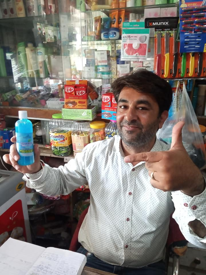 +91 78952 43800 hand wash dealers haridwar Dimple General Store in Shopping Centre Bhel sector 1 Ranipur Haridwar